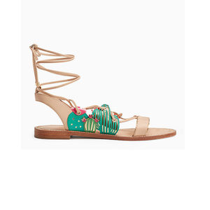 Kate Spade strappy cactus sandals